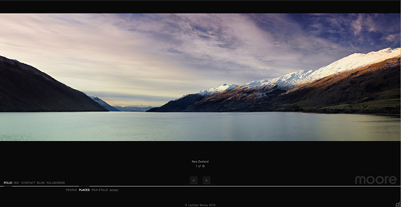 Lachlan Moore Website - New Zealand