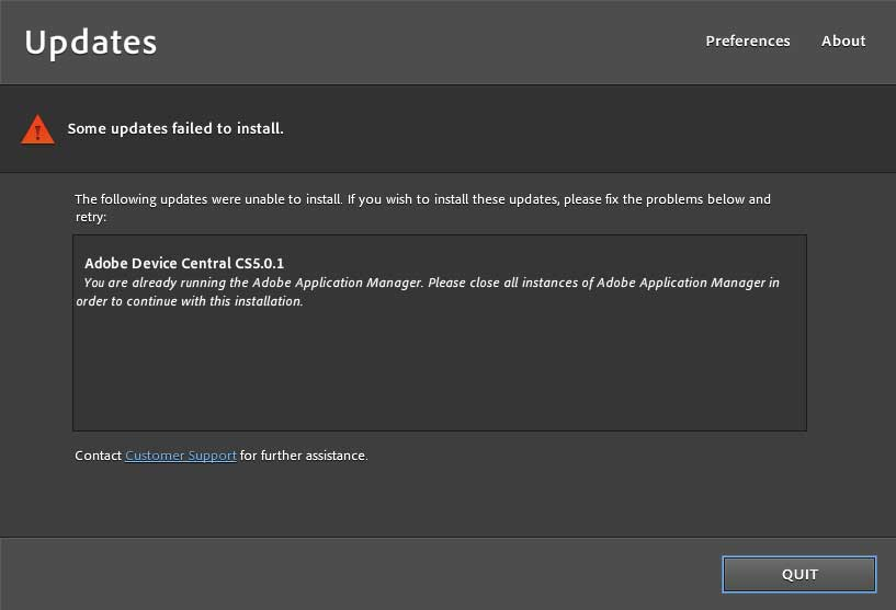 how to delete adobe application manager